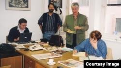 Mladen Mali, Enis Zebić, Ines Šaškor, Silvija Simić, 1999.
