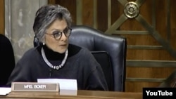"""U.S. Senator Barbara Boxer (Democrat-California) has said a rejection of the deal would be """"a victory for Iranian hard-liners and would accelerate their ability to obtain a nuclear weapon."""""""
