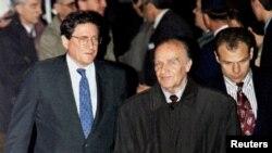 Ričard Holbruk, Alija Izetbegović i Muhamed Šaćirbej