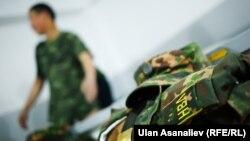 Улуттук гвардиянын жоокери (иллюстрация)