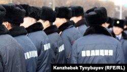 Казахстанские полицейские. Иллюстративное фото.
