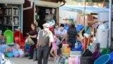 Printre tarabe la piața din Rezina. 28 iunie 2020
