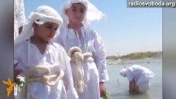 Світ у відео: послідовники вчення гностицизму зібралися на «золоте хрещення» в Іраку