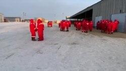 Көкжиде кенішінде мұнайшылар ереуілінің төртінші күні