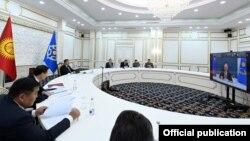 Заседание Совета коллективной безопасности ОДКБ прошло онлайн. 23 августа 2021 г.