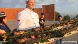 Ամենաերկար տոլմայի խոհարարական մրցույթ