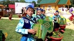 Казанда Сабантуенда Патрушев һәм Топбаш катнашты