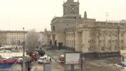 Волгоград. Район вокзала после взрыва