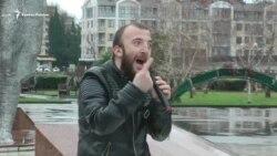 В Сочи устроили протест в пятилетие Олимпиады