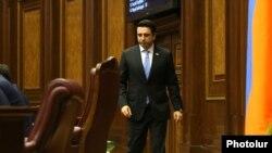 Спикер парламента Армении Ален Симонян
