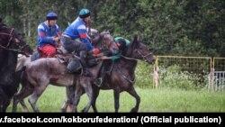 Игра в кок-бору, Московская область РФ (иллюстративное фото).