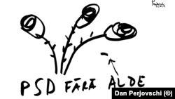 Romania - Dan Perjovschi PSD fără ALDE