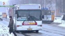 Як бійці АТО виборювали собі місця в маршрутках (відео)
