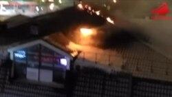 """В Казани горит """"Старый Амбар"""" (видео)"""