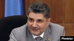 Armenia - Prime Minister Tigran Sarkisian.
