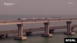 Мост через Керченский пролив стал одним из крупнейших инфраструктурных проектов Владимира Путина