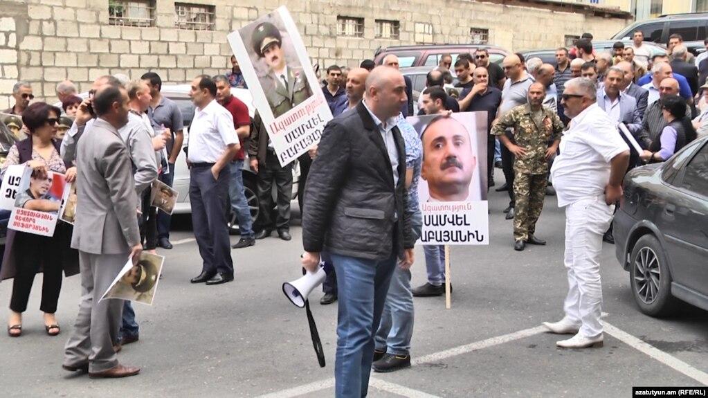 Сторонники Самвела Бабаяна прекращают протесты