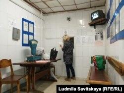 Ирина Милушкина в магазине при СИЗО