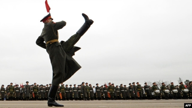 Moscow's Red Square hosts the annual Victory Day parade on May 9.