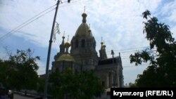 Покровський собор у Севастополі – місце, де перебігала церемонія відспівування вбитого політика Романа Шамрая
