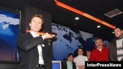 Грузинский телеканал «Имеди» открывается не таким, каким его ждали зрители