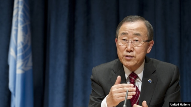 UN Secretary-General Ban Ki-moon warns Iran of the 'potentially harmful consequences' from fiery rhetoric.
