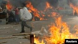 Բանգլադեշ - Ընդդիմության ակտիվիստների և ոստիկանության միջև բախման հետևանքները մայրաքաղաք Դաքայում, 13-ը դեկտեմբերի, 2013թ.