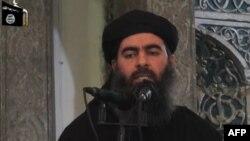"""Абу Бакр әл-Бағдади, """"Ислам мемлекеті"""" экстремистік ұйымының жетекшісі."""