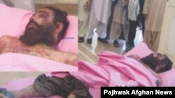 صبح روز یکشنبه جسد ملاداد الله درملاء عام در استان قندهار به نمايش گذاشته شد.
