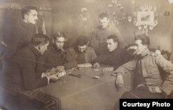 Ofițeri români în Germania (Foto: Expoziția Marele Război, 1914-1918, Muzeul Național de Istorie a României)