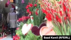 گل های تازه در گل فروشی های کابل