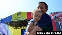 27-августта Молдова республикасы Советтер Союзунан эгемендик алганынын 26-жылдыгын белгиледи.