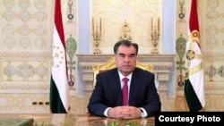 Прэзыдэнт Таджыкістану Эмамалі Рахмон