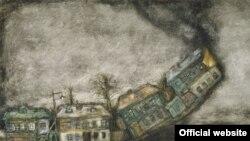 """Франческа Ярбусова. Горящая улица Марьиной Рощи. Сцена из фильма """"Сказка Сказок"""""""