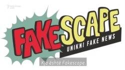 """Fakescape, platforma që lufton """"lajmet e rreme"""""""