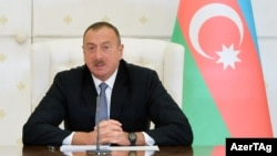 Moves to block five news websites come after RFE/RL's Azerbaijani Service published investigative reports about financial activities linked to the family and inner circle of President Ilham Aliyev. (pictured, file photo)