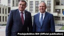 Milorad Dodik i Sergej Rumas