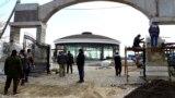 Благоустройство территории у Свято-Георгиевского монастыря на мысе Фиолент проводит АО «Ривьера», декабрь 2018 года