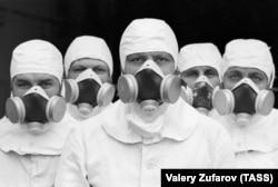Ликвидаторы на Чернобыльской АЭС