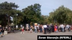 "Izložba ""Tolerancija"" na ""Nedelji ponosa"" u Beogradu, Kalemegdan, 11. septembar 2017."