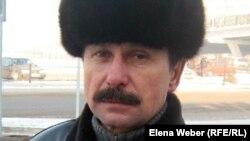 Бывший шахтер Александр Печерский. Караганда, 11 января 2012 года.