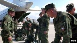 Передовой отряд российских военных инженеров в Бейруте