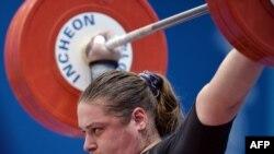 Mariya Grabovetskaya of Kazakhstan, a bronze medallist in weightlifting in Beijing in 2008, was stripped of her medal after failing a doping retest.