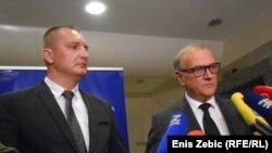 Josip Grubeša i Dražen Bošnjaković u Zagrebu