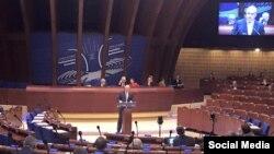 Нілс Муйжніекс у Парламентській асамблеї Ради Європи