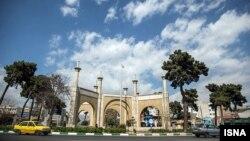 مشهد من العاصمة الايرانية طهران