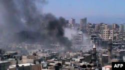 Один из кварталов Хомса