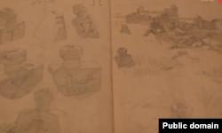 Страница из дневника Боданинского
