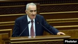 Спикер парламента Армении Галуст Саакян