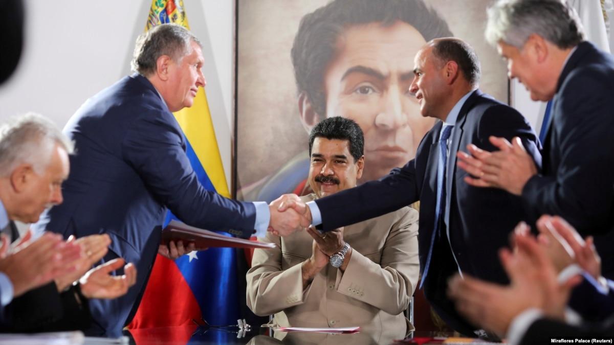 Reuters: «Роснефть помогает Венесуэле обходить санкции США